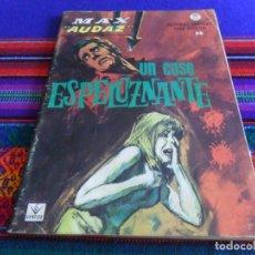 Cómics: VÉRTICE GRAPA MAX AUDAZ Nº 17. 10 PTS. 1965. UN CASO ESPELUZNANTE. BUEN ESTADO.. Lote 135084258