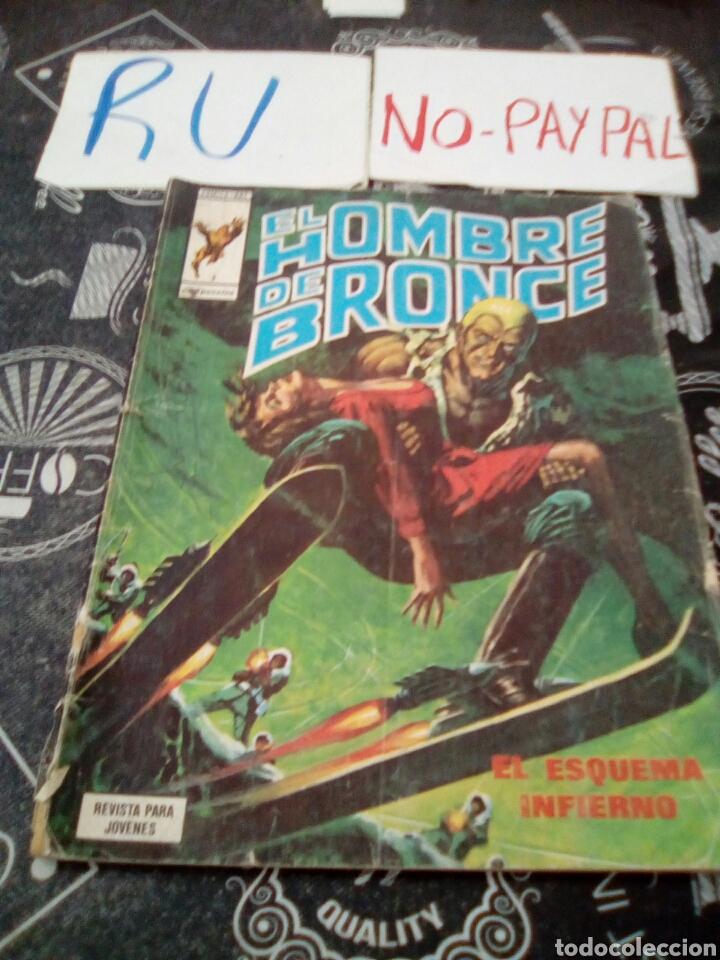 EL HOMBRE DE BRONCE 3 VERTICE COMICS ART EL ESQUEMA INFIERNO, VER FOTOS ESTADO (Tebeos y Comics - Vértice - Hombre de Hierro)