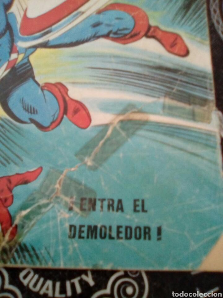 Cómics: Vertice v 1 n 11 el hombre de hierro y el capitán América entra el demoledor, ver fotos estado , . - Foto 2 - 135093119