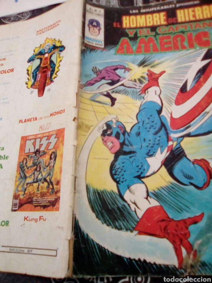 Cómics: Vertice v 1 n 11 el hombre de hierro y el capitán América entra el demoledor, ver fotos estado , . - Foto 3 - 135093119