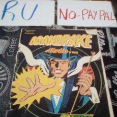 Comics: MANDRAKE MERLIN EL MAGO 1 COMICS ART VER FOTOS ROTURAS Y ARRUGAS. Lote 135095654