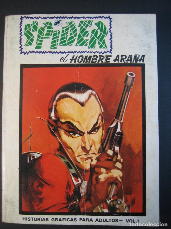 SPIDER (1973, VERTICE) 1 · V-1973 · SPIDER (Tebeos y Comics - Vértice - V.1)