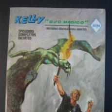 Cómics: KELLY OJO MAGICO (1967, VERTICE) 9 · 1967 · LA HABITACION Z. Lote 133145570