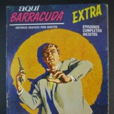 Cómics: AQUI BARRACUDA (1968, VERTICE) 13. Lote 133019498