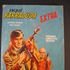 Cómics: AQUI BARRACUDA (1968, VERTICE) 7 · 1968 · CONTRA EL CRIMEN. Lote 133255138