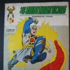Cómics: 4 FANTASTICOS, LOS (1969, VERTICE) -V.1- 60 · 1974 · EL HORROR QUE CAMINA POR EL AIRE. Lote 133362150