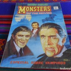 Cómics: VÉRTICE VOL. 1 RELATOS SALVAJES Nº 46 MONSTERS OF THE MOVIES, ESPECIAL SOBRE VAMPIROS. 1977. 50 PTS.. Lote 135385646