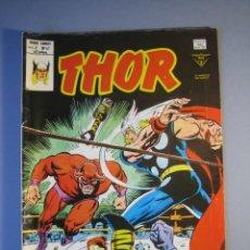 Cómics: THOR (1974, VERTICE) 47 · II-1980 · CIRCULO ALREDEDOR DEL TORO ROJO. Lote 135486610