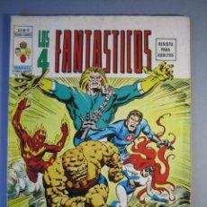Cómics: 4 FANTASTICOS, LOS (1974, VERTICE) -V.2- 9 · III-1975 · UN MUNDO DE LOCURA. Lote 135488190