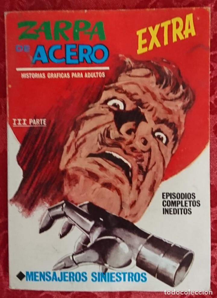 COMIC ZARPA DE ACERO Nº 25 MENSAJEROS SINIESTROS VÉRTICE.MUY BUEN ESTADO (Tebeos y Comics - Vértice - Otros)