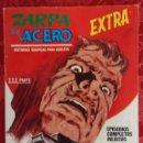 Cómics: COMIC ZARPA DE ACERO Nº 25 MENSAJEROS SINIESTROS VÉRTICE.MUY BUEN ESTADO. Lote 135526054