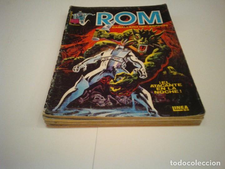 Cómics: ROM - VERTICE - SURCO - COLECCION COMPLETA - 8 NUMEROS - BUEN ESTADO - CJ 7 - GORBAUD - Foto 3 - 135560226