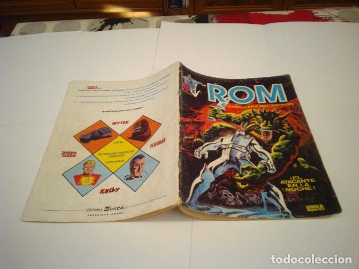 Cómics: ROM - VERTICE - SURCO - COLECCION COMPLETA - 8 NUMEROS - BUEN ESTADO - CJ 7 - GORBAUD - Foto 6 - 135560226