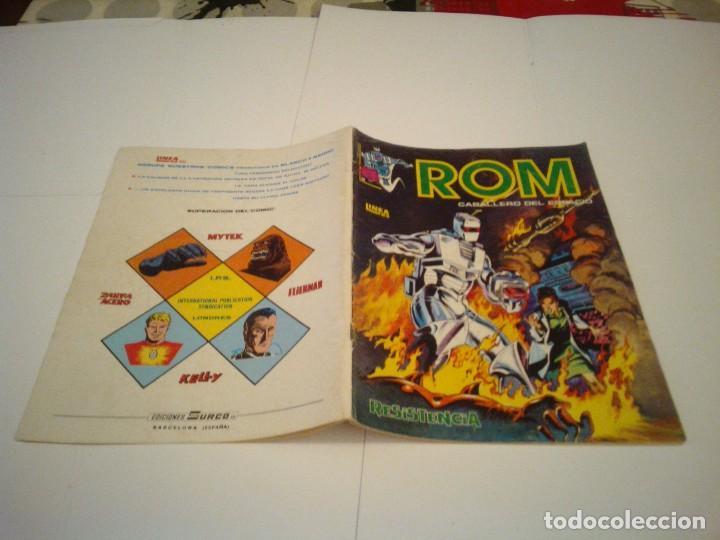 Cómics: ROM - VERTICE - SURCO - COLECCION COMPLETA - 8 NUMEROS - BUEN ESTADO - CJ 7 - GORBAUD - Foto 7 - 135560226