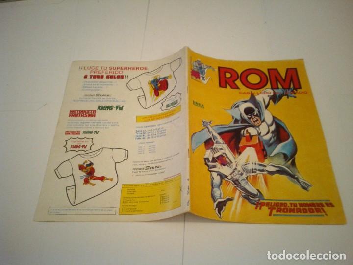 Cómics: ROM - VERTICE - SURCO - COLECCION COMPLETA - 8 NUMEROS - BUEN ESTADO - CJ 7 - GORBAUD - Foto 8 - 135560226
