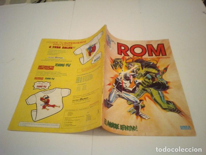 Cómics: ROM - VERTICE - SURCO - COLECCION COMPLETA - 8 NUMEROS - BUEN ESTADO - CJ 7 - GORBAUD - Foto 9 - 135560226