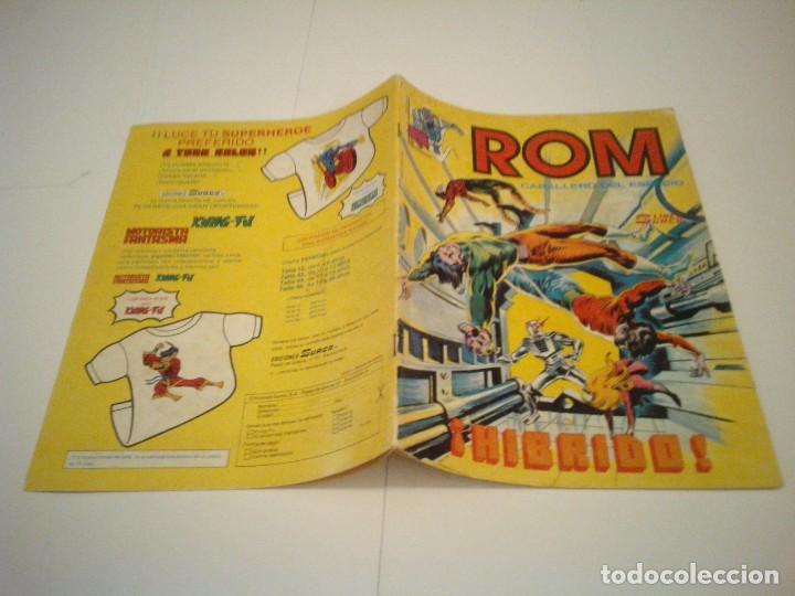 Cómics: ROM - VERTICE - SURCO - COLECCION COMPLETA - 8 NUMEROS - BUEN ESTADO - CJ 7 - GORBAUD - Foto 10 - 135560226
