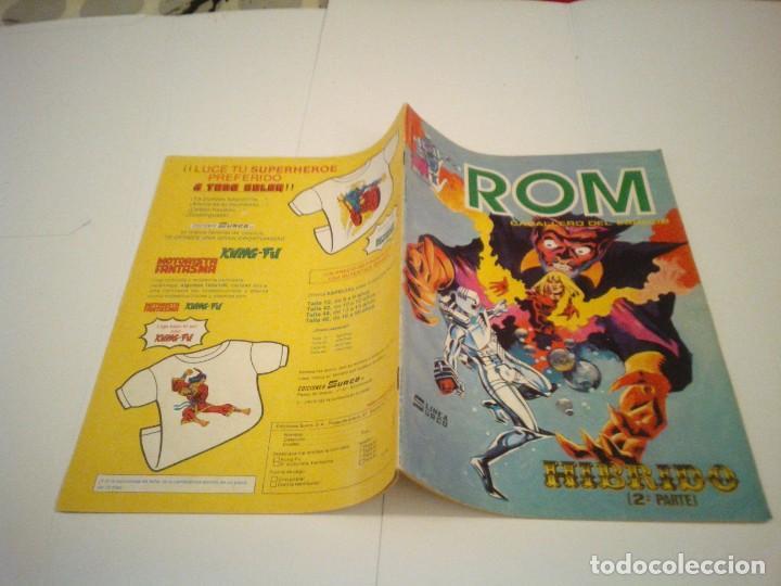 Cómics: ROM - VERTICE - SURCO - COLECCION COMPLETA - 8 NUMEROS - BUEN ESTADO - CJ 7 - GORBAUD - Foto 11 - 135560226