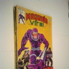 Cómics: MAQUINA VITAL - VERTICE - MUNDI COMICS - COL COMPLETA - NUMEROS - BUEN ESTADO - CJ 7 - GORBAUD. Lote 135560590