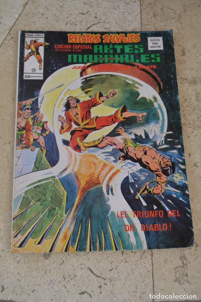 RELATOS SALVAJES : ARTES MARCIALES VERTICE Nº 33 (Tebeos y Comics - Vértice - Relatos Salvajes)