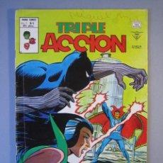 Cómics: TRIPLE ACCION (1979, VERTICE) 6 · IX-1979 · ¡CONTRA PANTERA Y MANTIS!. Lote 135588246