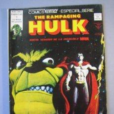 Cómics: HULK (1978, VERTICE) -RAMPAGING- 5 · II-1979 · EL PRINCIPE SUBMARINO ATACA. Lote 135594758