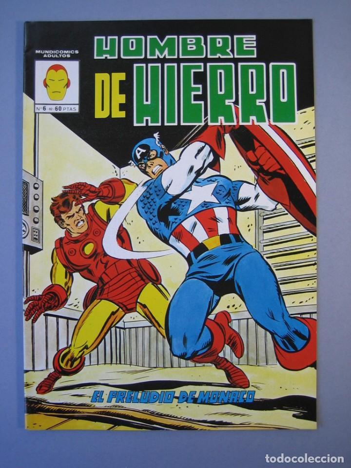 IRON MAN (1981, VERTICE) -HOMBRE DE HIERRO- 6 · III-1982 · EL PRELUDIO DE MONACO **EXCELENTE*** (Tebeos y Comics - Vértice - Hombre de Hierro)