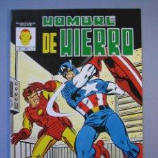 Cómics: IRON MAN (1981, VERTICE) -HOMBRE DE HIERRO- 6 · III-1982 · EL PRELUDIO DE MONACO **EXCELENTE***. Lote 135612846
