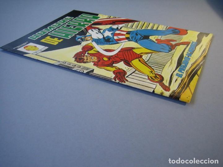 Cómics: IRON MAN (1981, VERTICE) -HOMBRE DE HIERRO- 6 · III-1982 · EL PRELUDIO DE MONACO **EXCELENTE*** - Foto 3 - 135612846