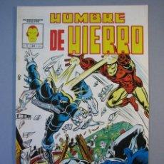 Cómics: IRON MAN (1981, VERTICE) -HOMBRE DE HIERRO- 5 · II-1982 · PEDAZOS DE ODIO ***EXCELENTE***. Lote 135613142