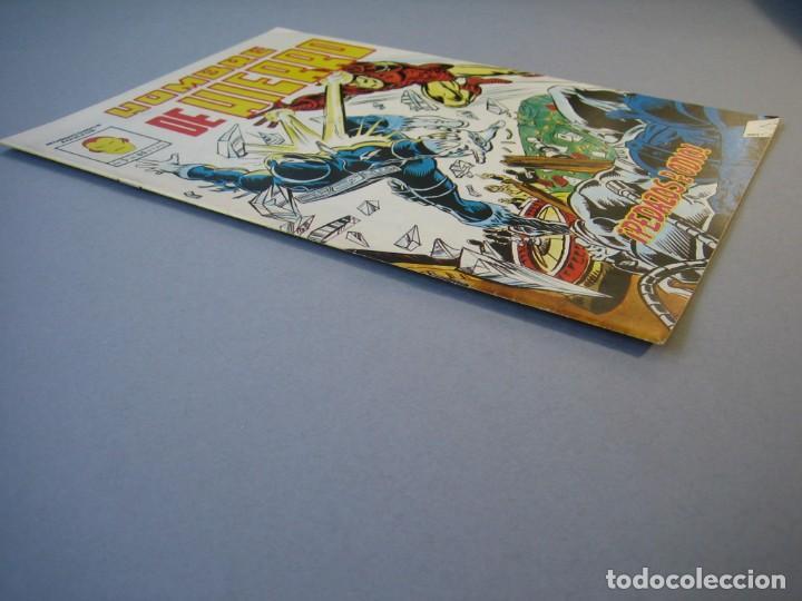 Cómics: IRON MAN (1981, VERTICE) -HOMBRE DE HIERRO- 5 · II-1982 · PEDAZOS DE ODIO ***EXCELENTE*** - Foto 3 - 135613142