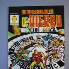 Cómics: IRON MAN (1981, VERTICE) -HOMBRE DE HIERRO- 4 · I-1982 · CASINO FATAL *** EXCELENTE ***. Lote 135613294
