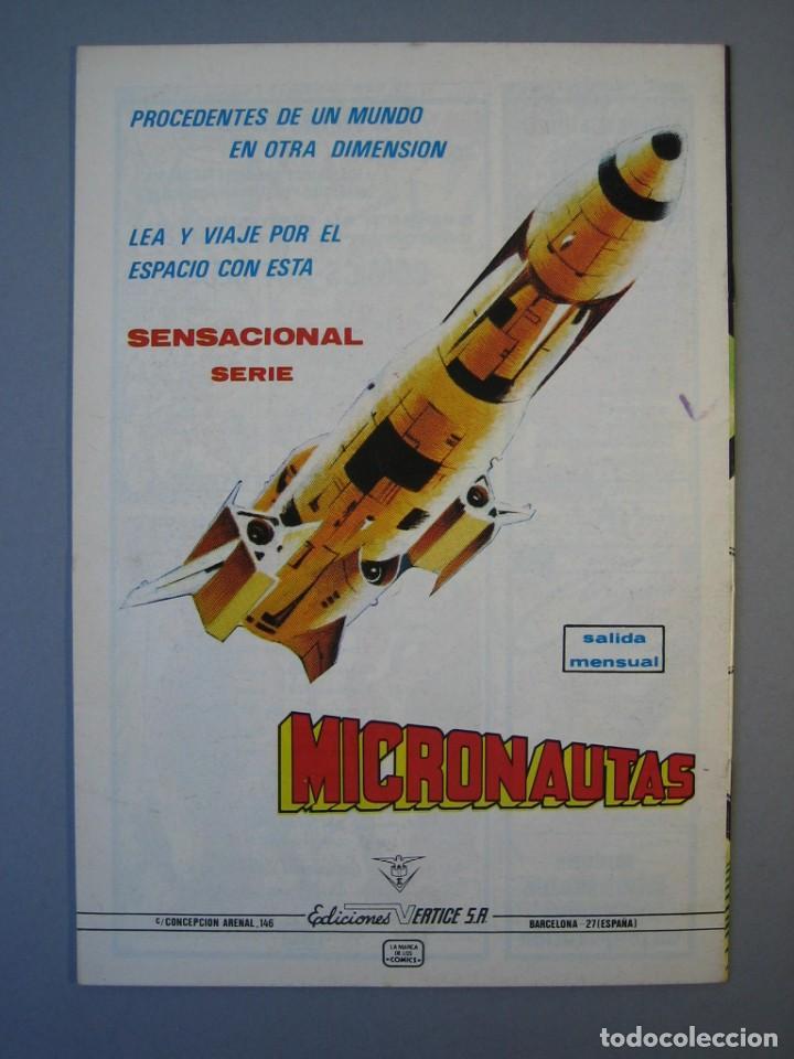 Cómics: IRON MAN (1981, VERTICE) -HOMBRE DE HIERRO- 4 · I-1982 · CASINO FATAL *** EXCELENTE *** - Foto 2 - 135613294