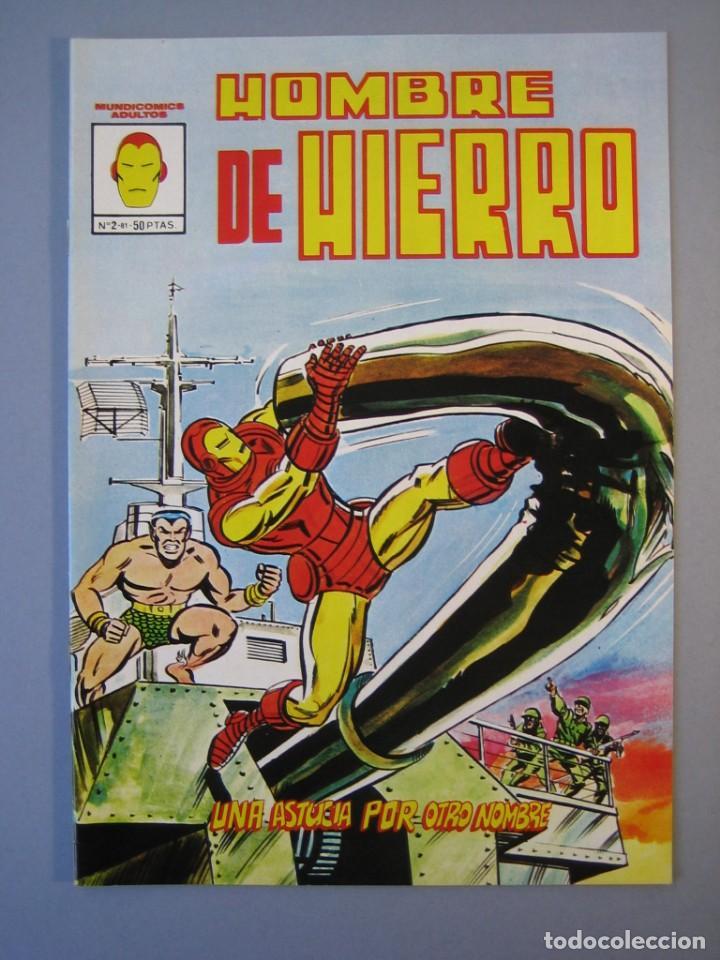 IRON MAN (1981, VERTICE) -HOMBRE DE HIERRO- 2· XII-1981·***EXCELENTE *** (Tebeos y Comics - Vértice - Hombre de Hierro)