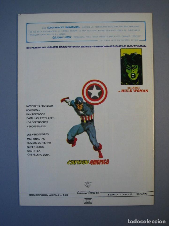 Cómics: IRON MAN (1981, VERTICE) -HOMBRE DE HIERRO- 2· XII-1981·***EXCELENTE *** - Foto 2 - 135614726