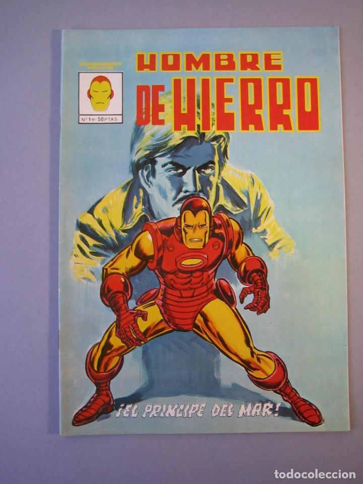 IRON MAN (1981, VERTICE) -HOMBRE DE HIERRO- 1 · X-1981 · EL PRINCIPE DEL MAR*** EXCELENTE*** (Tebeos y Comics - Vértice - Hombre de Hierro)