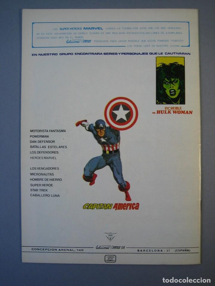 Cómics: IRON MAN (1981, VERTICE) -HOMBRE DE HIERRO- 1 · X-1981 · EL PRINCIPE DEL MAR*** EXCELENTE*** - Foto 2 - 135614842