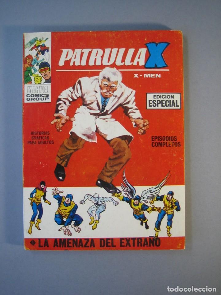 PATRULLA X (1969, VERTICE) 5 · 1969 · LA AMENAZA DEL EXTRAÑO *** EXCELENTE *** (Tebeos y Comics - Vértice - Patrulla X)