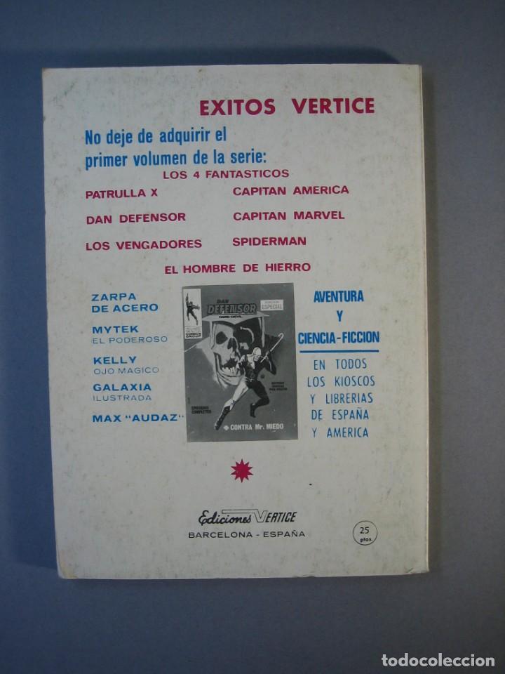 Cómics: PATRULLA X (1969, VERTICE) 5 · 1969 · LA AMENAZA DEL EXTRAÑO *** EXCELENTE *** - Foto 2 - 211844152