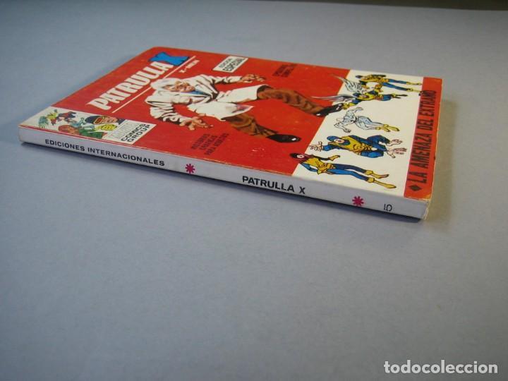 Cómics: PATRULLA X (1969, VERTICE) 5 · 1969 · LA AMENAZA DEL EXTRAÑO *** EXCELENTE *** - Foto 3 - 211844152
