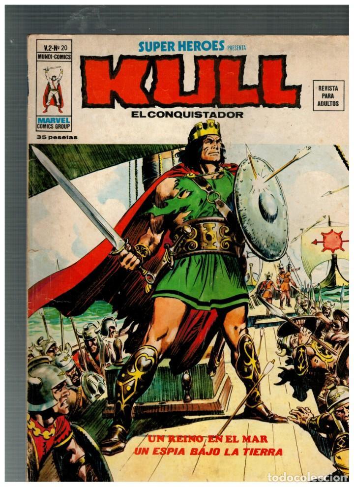 SUPER HÉROES V.2 Nº 20. -KULL- BUENO. (Tebeos y Comics - Vértice - Super Héroes)