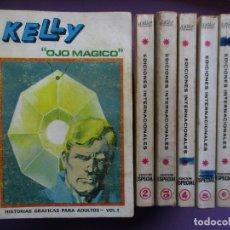 Cómics: KELLY OJO MAGICO COLECCION COMPLETA VERTICE TACO, ¡¡¡¡¡¡¡¡BUEN ESTADO !!!!!!!!. Lote 135943610