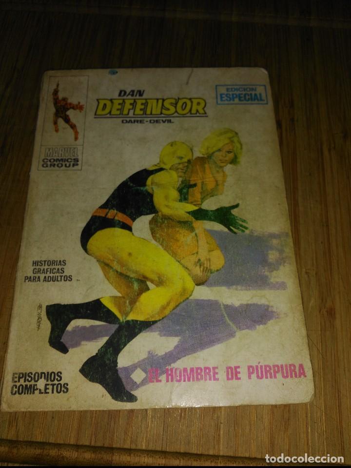 DAN DEFENSOR VOL. 1 Nº 2 (Tebeos y Comics - Vértice - Dan Defensor)