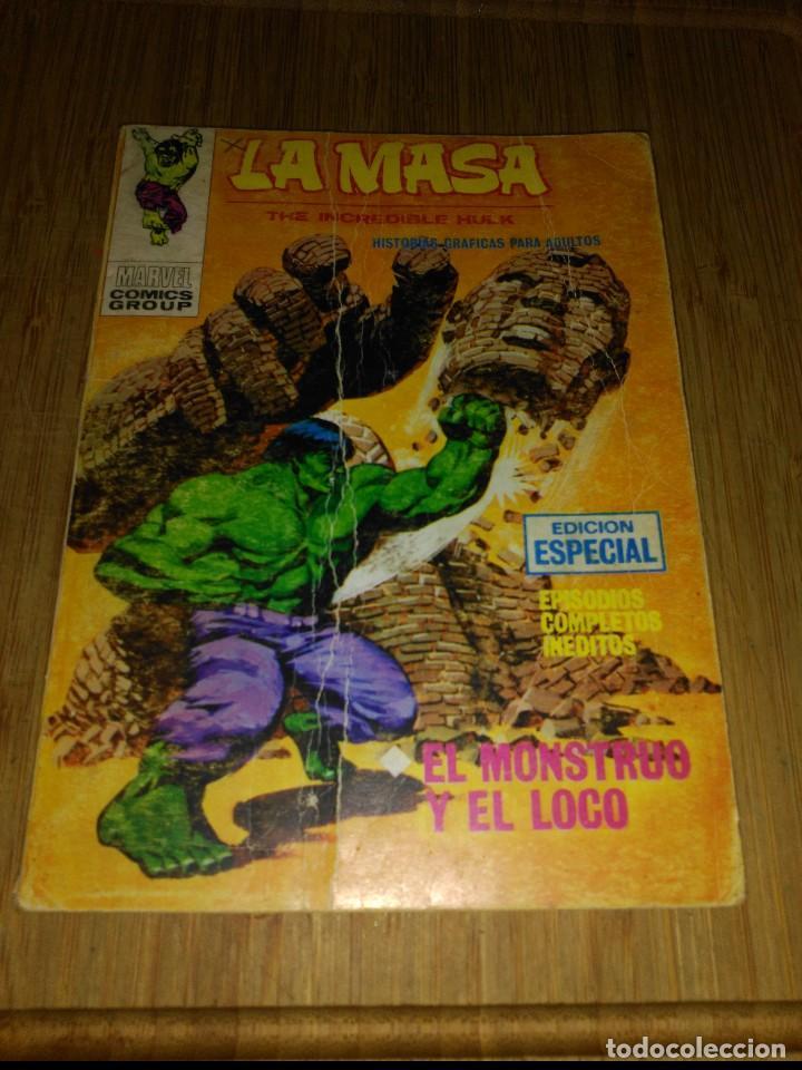 LA MASA VOL. 1 Nº21 (Tebeos y Comics - Vértice - La Masa)