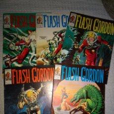 Cómics: FLASH GORDON -VERTICE-COMICS-V1- EJEMPLARES 11-13-18-20-21. Lote 136152626