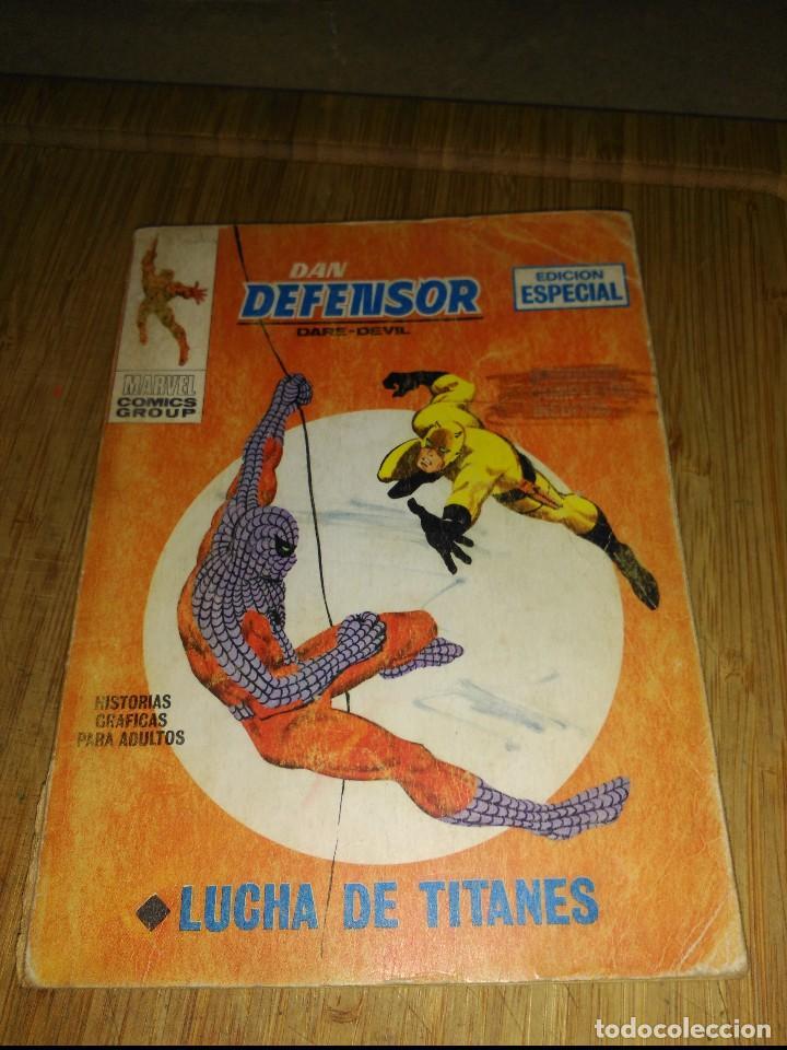 DAN DEFENSOR VOL.1 Nº 7 (Tebeos y Comics - Vértice - Dan Defensor)