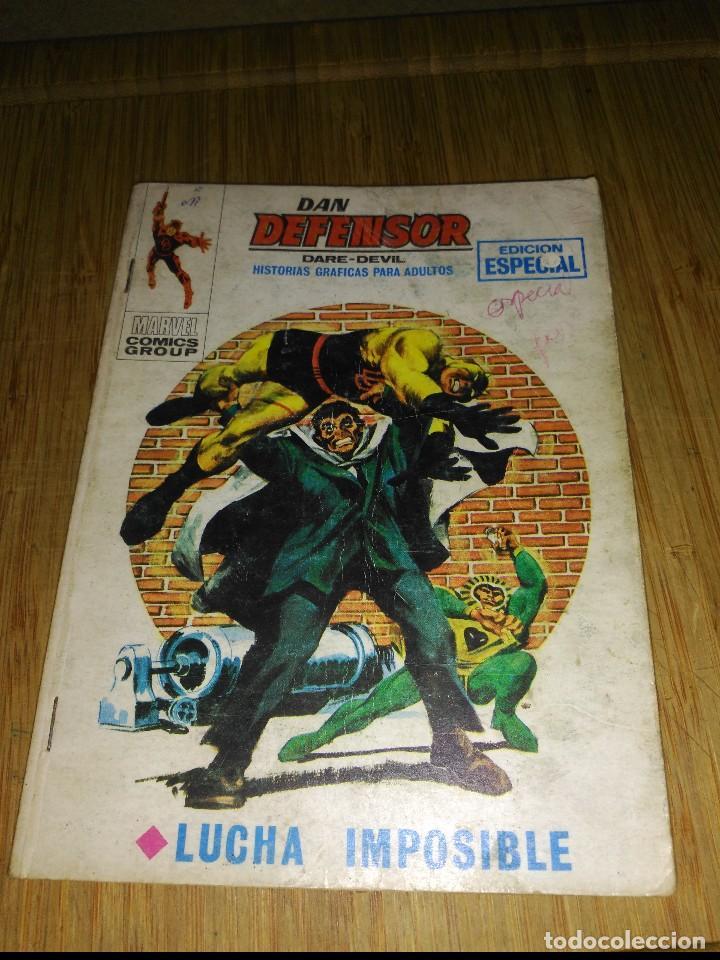 DAN DEFENSOR VOL.1 Nº 12 (Tebeos y Comics - Vértice - Dan Defensor)