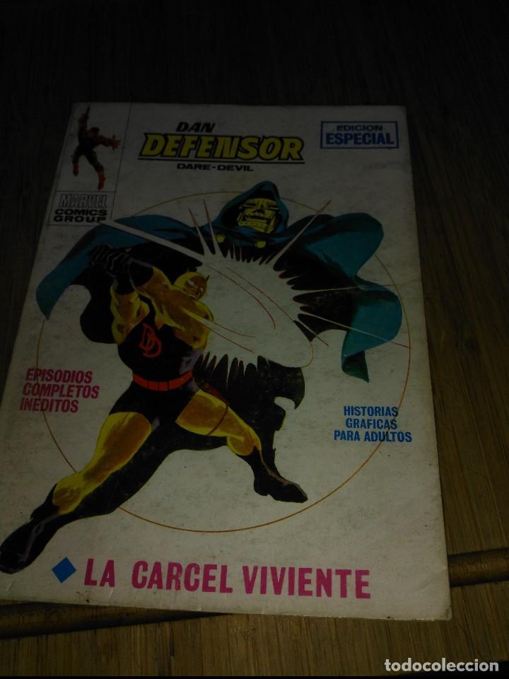 DAN DEFENSOR VOL.1 Nº 15 (Tebeos y Comics - Vértice - Dan Defensor)