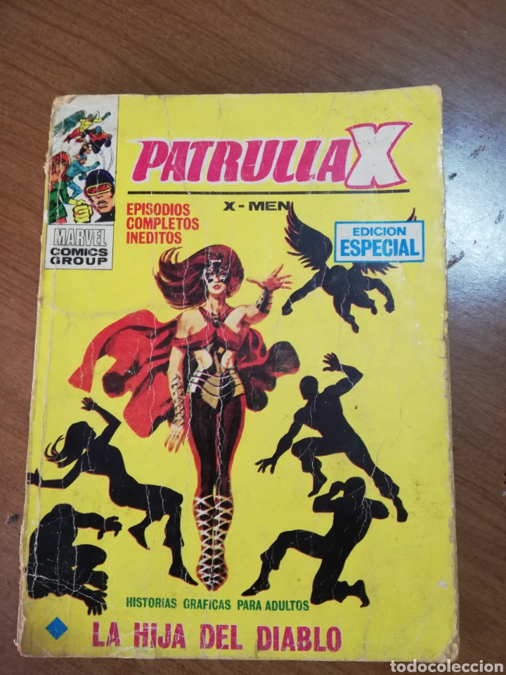 COMIC MARVEL PATRULLA X. VÉRTICE 1972. 128 PAG. (Tebeos y Comics - Vértice - Patrulla X)