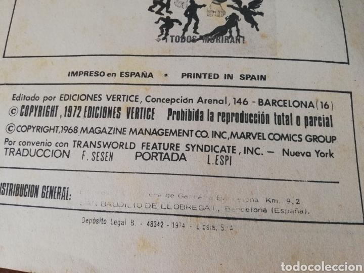 Cómics: COMIC MARVEL PATRULLA X. VÉRTICE 1972. 128 PAG. - Foto 2 - 136243769